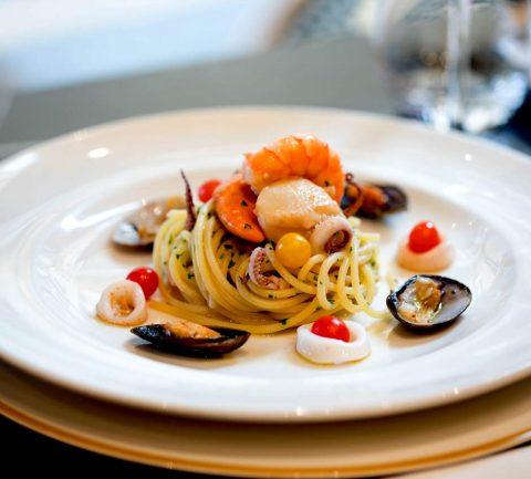 Spaghetti-frutti-di-mare-Restaurant-Il-Sorrentino-fevrier-2020
